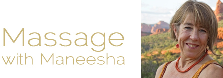 Massage in Sedona with Maneesha Logo